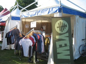 Our stand in Hyde Park