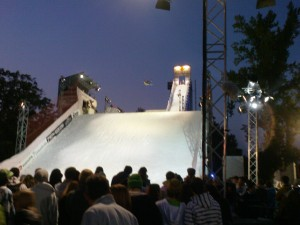 Freestyle's 32m ramp